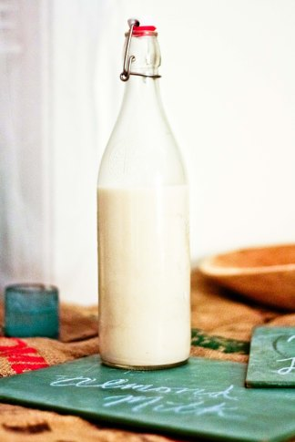 Homemade Almond Milk / Vegan Recipe / Mere Living
