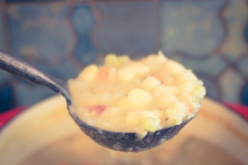Vegan Potato Soup Recipe Mere Living October 2014