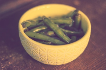 Green Beans Stewed in Wine / Vegan Recipe / Mere Living October 2014