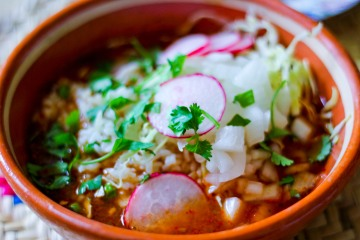 Vegan Posole / Mere Living Vegan Food Blog